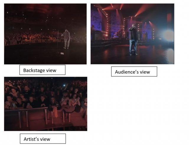 Text Box: Artist's view